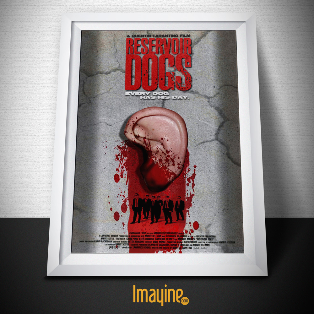Las 10 Películas de Quentin Tarantino en Cuadros :: Blog Imayine